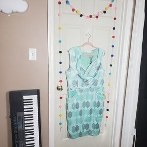 Vintage inspired mint dress